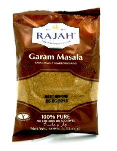 Rajah Garam Masala (Ground Garam Masala) | Buy Online at The Asian Cookshop.